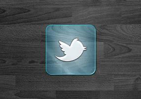 GLASS Social Icons WIP by SimekOneLove