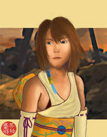 Lady Yuna - Final Fantasy X by STsung