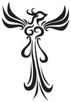 Phoenix tattoo design by STsung