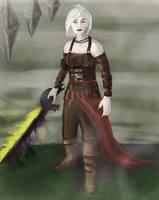 Stoneforge Mystic no.2 (Nahiri the Lithomancer) by STsung