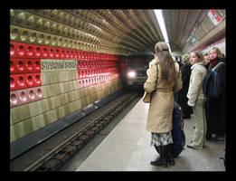 Prague - station Staromestska by STsung