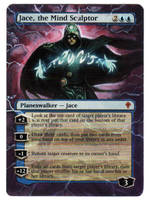 Jace, the Mind Sculptor alter by STsung