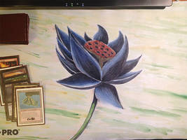Black Lotus playmat by STsung