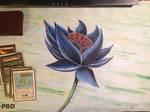 Black Lotus playmat by STsung