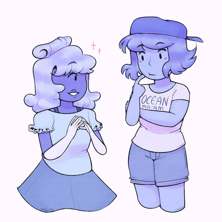 what's the mood today lads? *unfurls paper to reveal 'soft butch lapis'* just some practice with a simple style + soft colors approach
