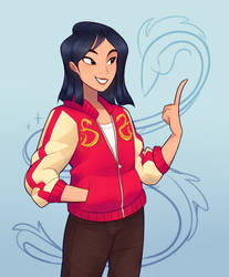 Modern Mulan by Sangled