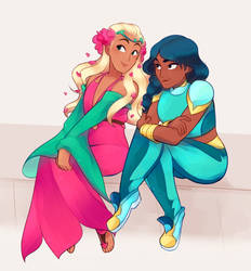 Princesses of Nature by Sangled