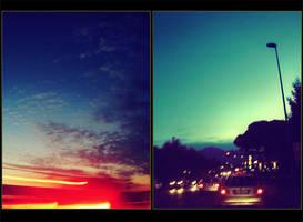nella fredda luce della sera. by smokedval