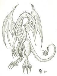 Request dragon by KitsuneDra