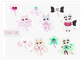 [CLOSED] Adoptable 102 - PURRFUME AUCTION by Puripurr