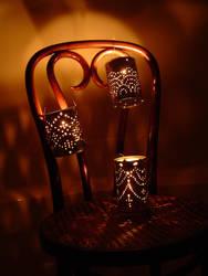 Tin Can Lanterns - tutorial by quexthemyuu