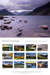 British Landscapes Calendar by novakovsky