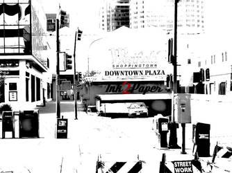 J Street In Sacramento, CA by Ink2Paper916
