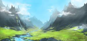 Mountain River by hanninordin