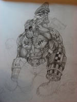 Warhammer 40k Krieg Ork concep by Zsoulless