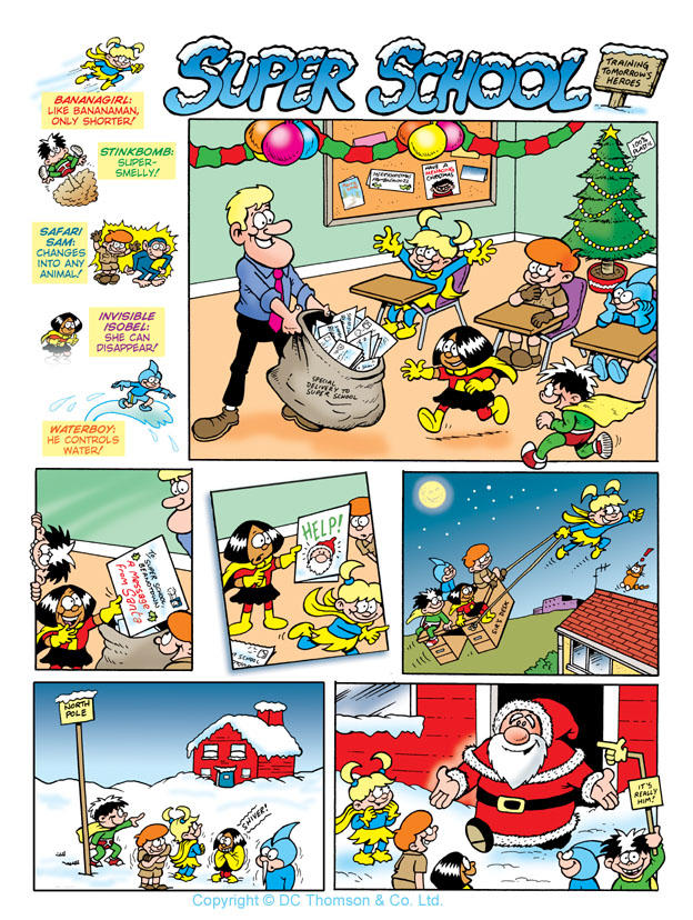 Super School, Beano Annual by lewstringer