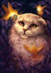Yosya the cat by kitanisu