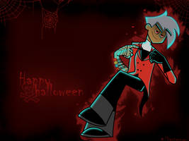 DP halloween wallpaper 07 by phantomnow