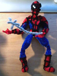 Spider-Man Pipe Cleaner by spidersman1208