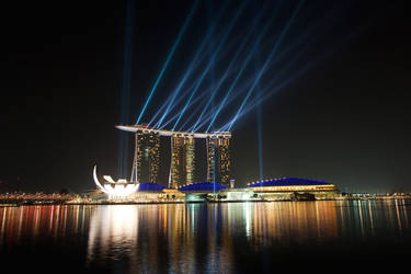 MBS Singapore by russell910