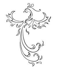 Phoenix Tattoo by LadyNaria