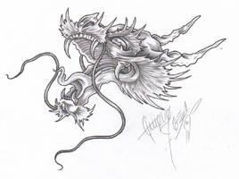 Dragon Head by BettieBoner
