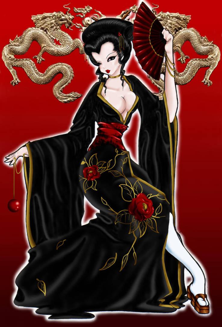 Geisha PSD by BettieBoner