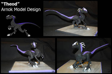 Theod - Sculpture by Tusami