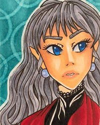 Lady Margaritte by curiosirie