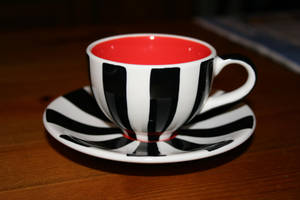 Stripey Teacup by Skitsofrenika-Stock