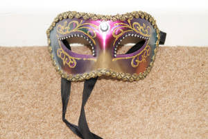 Venetian Mask 4 by Skitsofrenika-Stock