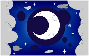 Luna Cutie Mark Wallpaper by MusicJump