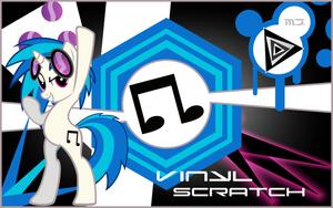 Vinyl Scratch Wallpaper by MusicJump