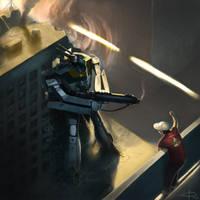Robotech Valkyrie by edsfox