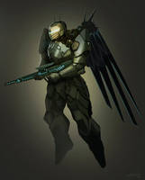 Angel Patrol soldier by edsfox