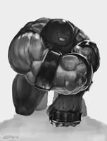Juggernaut sketch by edsfox
