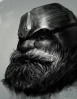 Dwarf sketch by edsfox