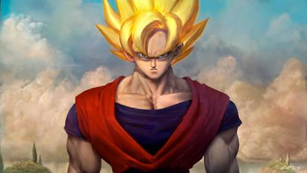 Goku by edsfox