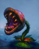 Carnivour Plant by edsfox