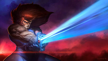 Lion-o overpaint by edsfox