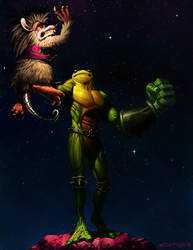 Battletoad punch by edsfox