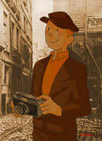 Tintin the reporter by SAcommeSASSY