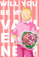 happy valentine-Tintin by SAcommeSASSY