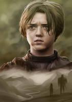Arya Stark by ElleDrawsAndStuff