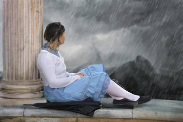 Spirit of the rain #07 by ElleDrawsAndStuff