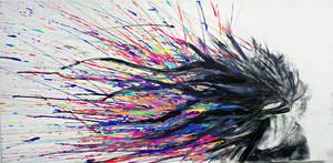 hair splatter. by byte-size