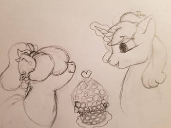 Oranges And Ice Cream by Rabies-the-Squirrel