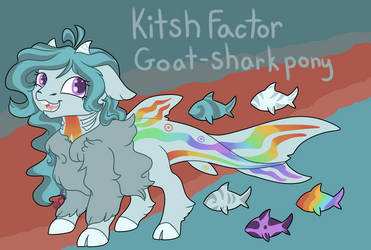 Kitsch Factor - Ref Sheet by Rabies-the-Squirrel