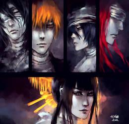 Bleach 517: The Four on the Edge by NanFe