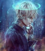 Moonlit Angel by NanFe
